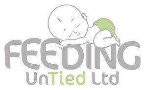 feeding untied